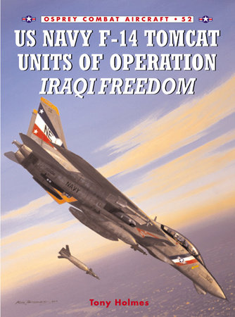 US Navy F-14 Tomcat Units of Operation Iraqi Freedom by Tony Holmes