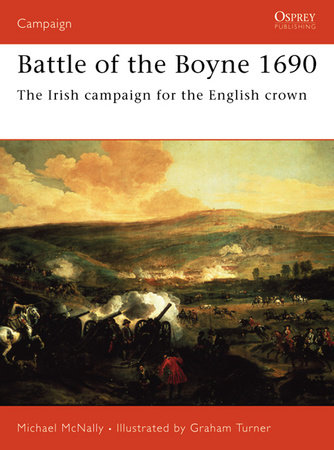 Battle of the Boyne 1690 by Michael McNally