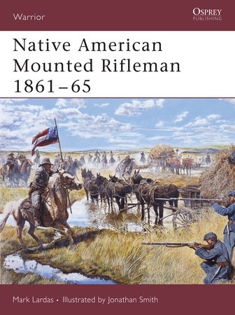 Native American Mounted Rifleman 1861-65 by