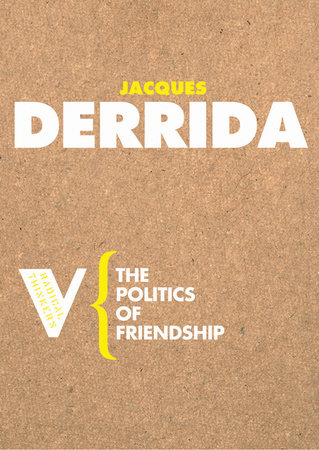 The Politics of Friendship