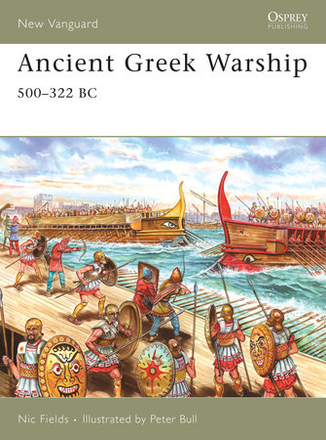 Ancient Greek Warship by Nic Fields