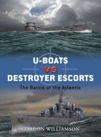 U-boats vs Destroyer Escorts by Gordon Williamson
