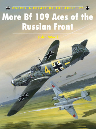 More Bf109 Aces of the Russian Front by John Weal