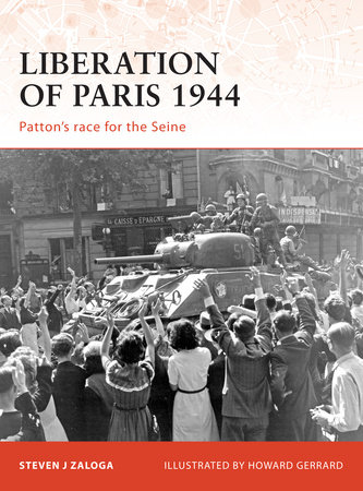 Liberation of Paris 1944 by