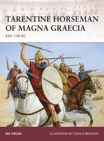 Tarentine Horseman of Magna Graecia by Nic Fields