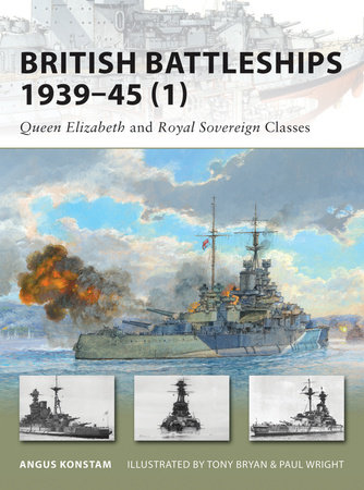 British Battleships 1939-45 (1) by Angus Konstam