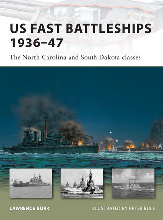 US Fast Battleships 1936-47 by