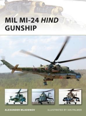 Mil Mi-24 Hind Gunship by Alexander Miladenov