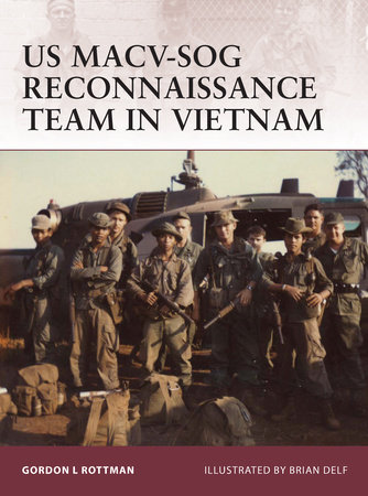 US MACV-SOG Reconnaissance Team in Vietnam by
