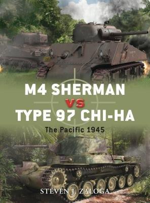 M4 Sherman vs Type 97 Chi-Ha by Steven Zaloga
