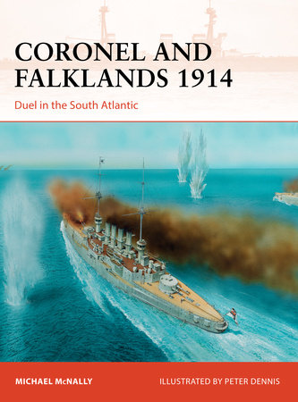 Coronel and Falklands 1914 by Michael McNally