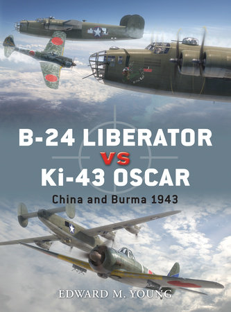 B-24 Liberator vs Ki-43 Oscar by Edward M. Young