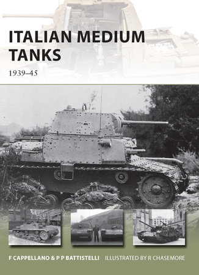 Italian Medium Tanks by Pier Battistelli