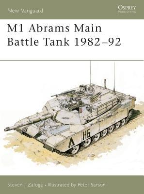 M1 Abrams Main Battle Tank 1982-92 by