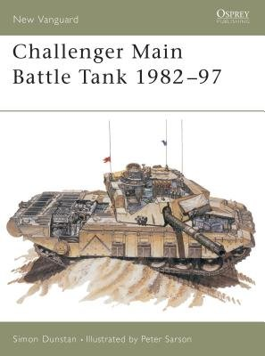 Challenger Main Battle Tank 1982-97 by Simon Dunstan