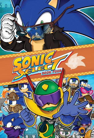 Sonic Select Book 4: Zone Wars by