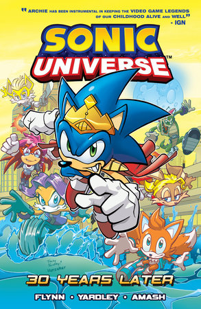 Sonic Universe 2: 30 Years Later by Sonic Scribes