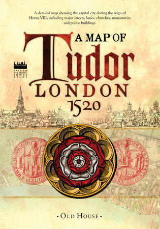 Historical Map of Tudor London, c.1520 by