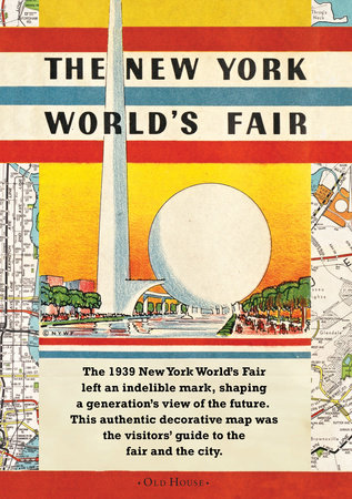 Map of the New York World's Fair 1939 by Hagstrom Company