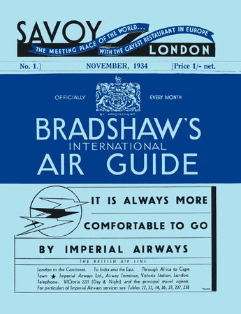Bradshaw's International Air Guide, 1934 by
