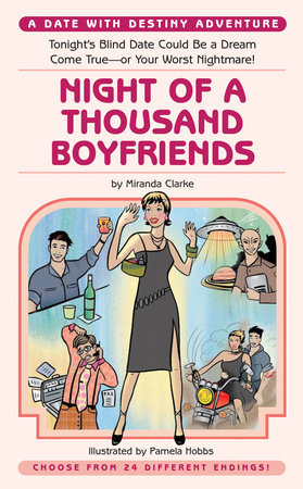 Night of a Thousand Boyfriends by Miranda Clarke