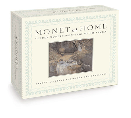 Monet at Home, (Boxed Notecards) by