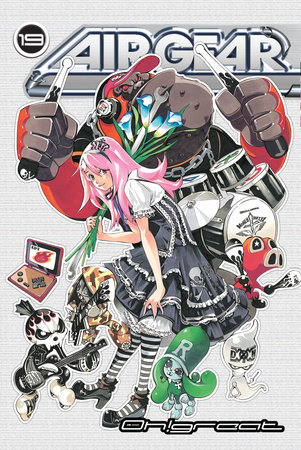 Air Gear 19 by Oh!Great