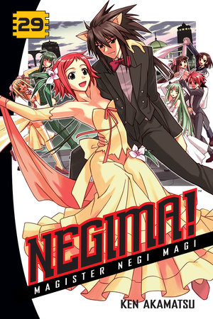 Negima! 29 by Ken Akamatsu