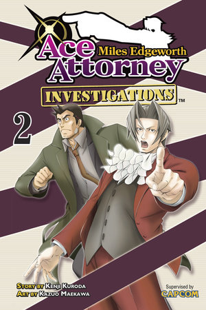 Miles Edgeworth: Ace Attorney Investigations 2 by Kenji Kuroda and CAPCOM