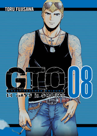 GTO 14 Days in Shonan, volume 8 by