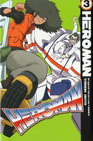 HeroMan, volume 3 by