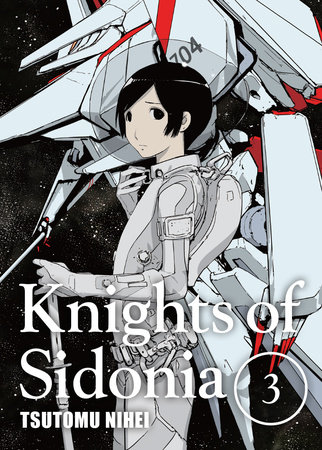 Knights of Sidonia, volume 3 by Tsutomu Nihei