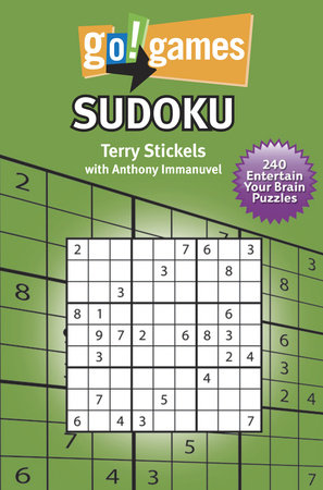 Go!Games Sudoku by Anthony Immanuvel and Terry Stickels