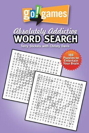 Go!Games Absolutely Addictive Word Search by Terry Stickels and Christy Davis