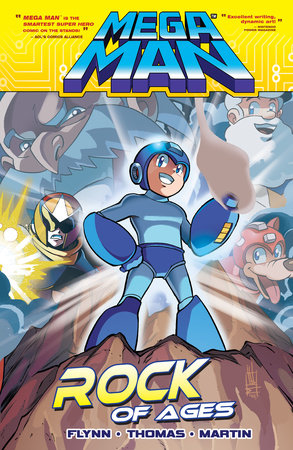 Mega Man 5: Rock of Ages by Ian Flynn
