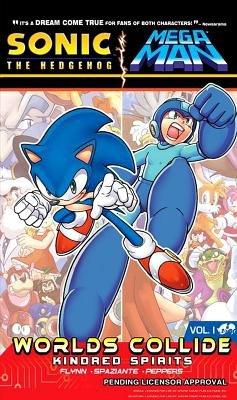 Sonic / Mega Man: Worlds Collide 1 by Sonic/Mega Man Scribes