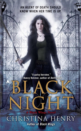 Black Night book cover