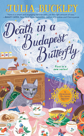 Death in a Budapest Butterfly by Julia Buckley