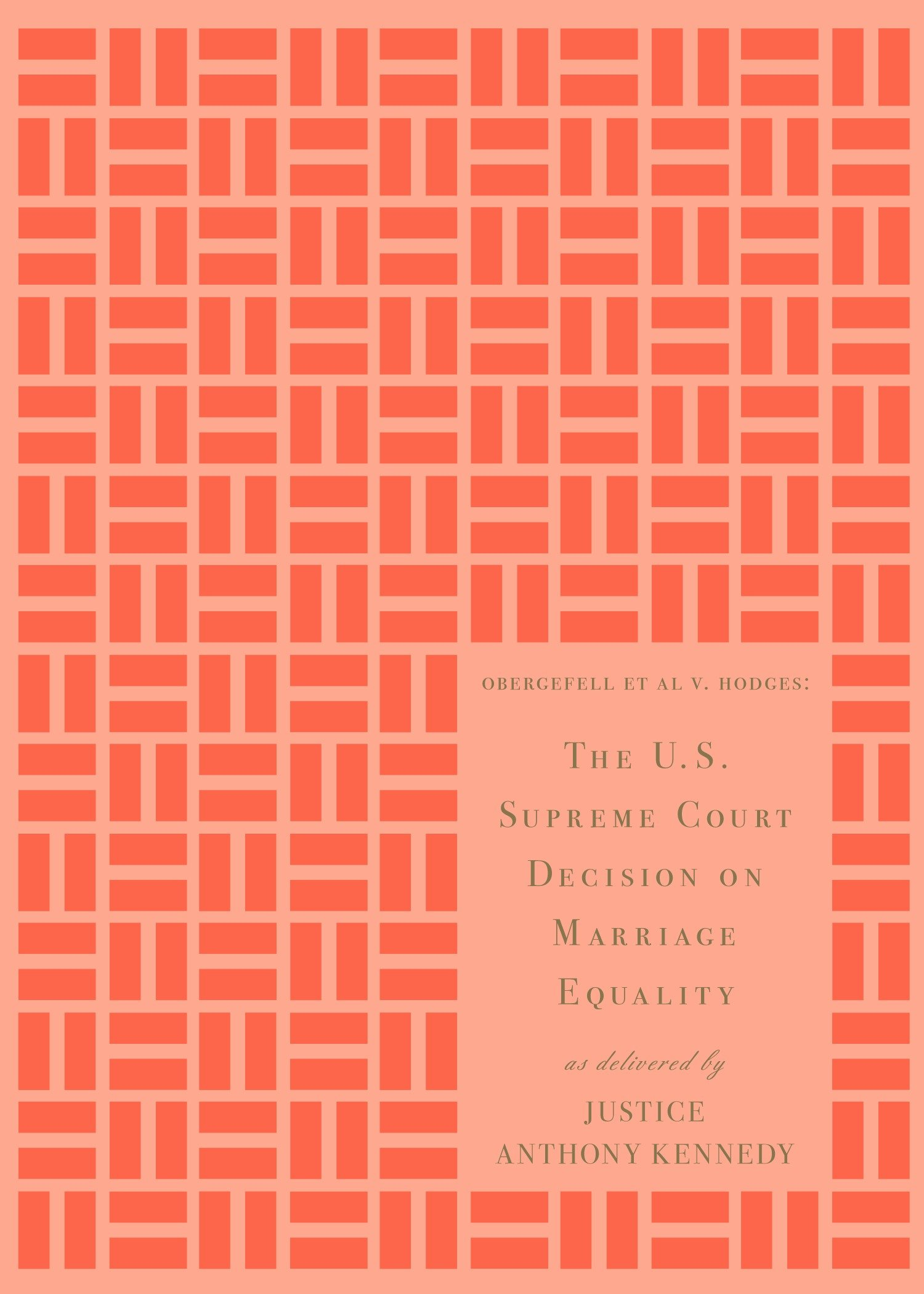 The U.S. Supreme Court Decision on Marriage Equality, Gift Edition