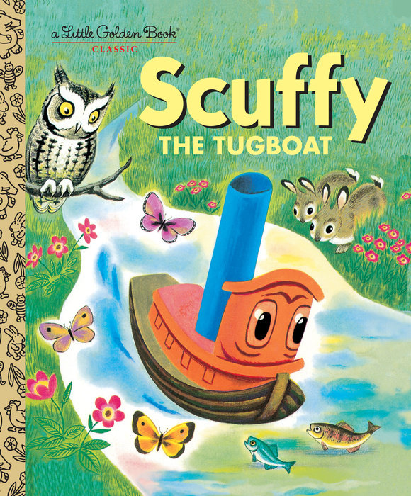 Cover of Scuffy the Tugboat