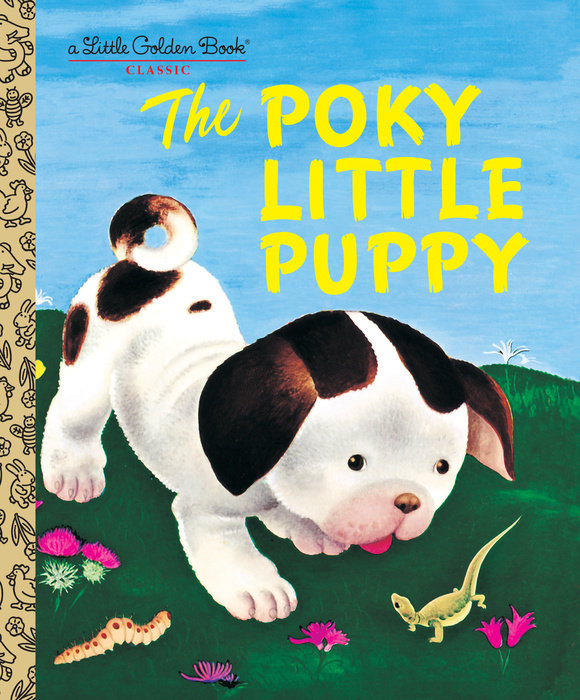 Cover of The Poky Little Puppy