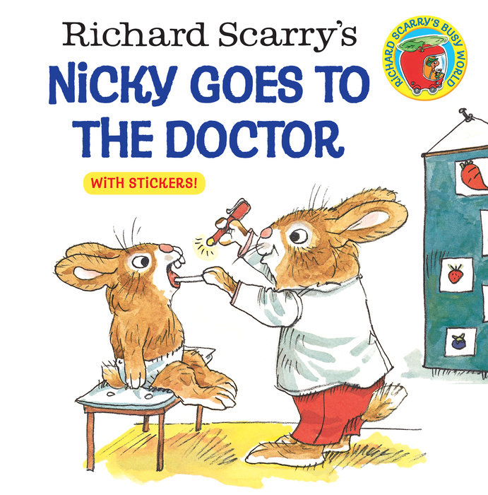 Cover of Richard Scarry\'s Nicky Goes to the Doctor