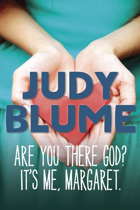 Book cover for Are You There God?  It\'s Me, Margaret
