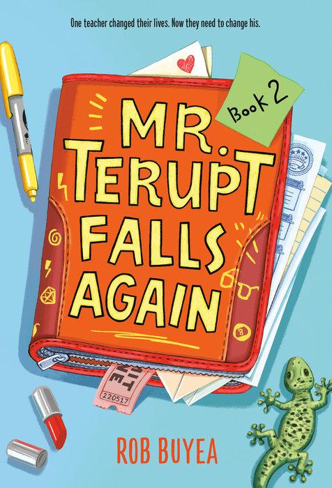 Cover of Mr. Terupt Falls Again