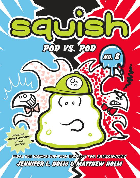 Cover of Squish #8: Pod vs. Pod