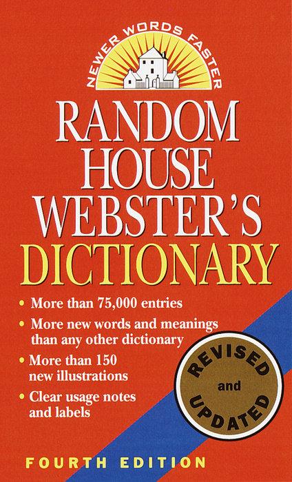 Random House Webster S Dictionary Random House Books