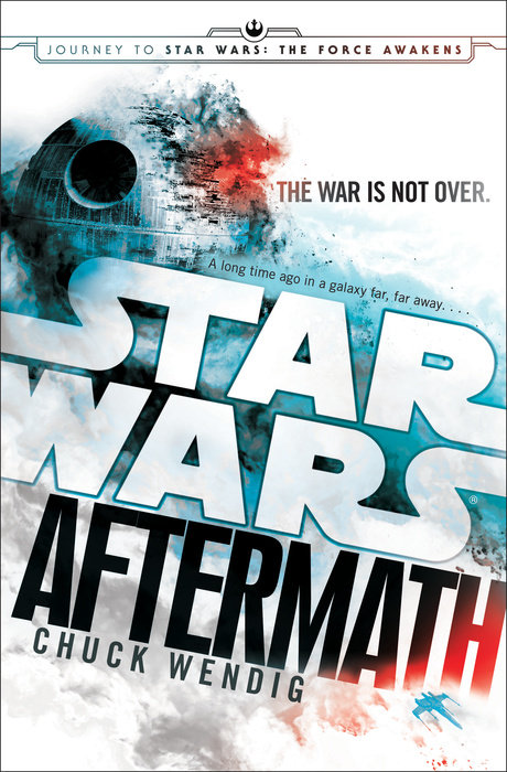 Star Wars Aftermath cover: the death star is exploding