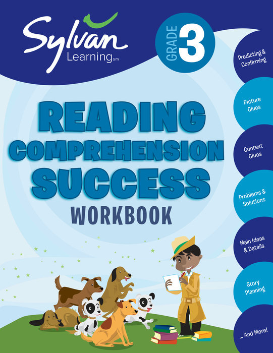 Cover of 3rd Grade Reading Comprehension Success Workbook