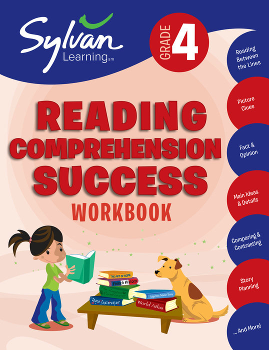 Cover of 4th Grade Reading Comprehension Success Workbook