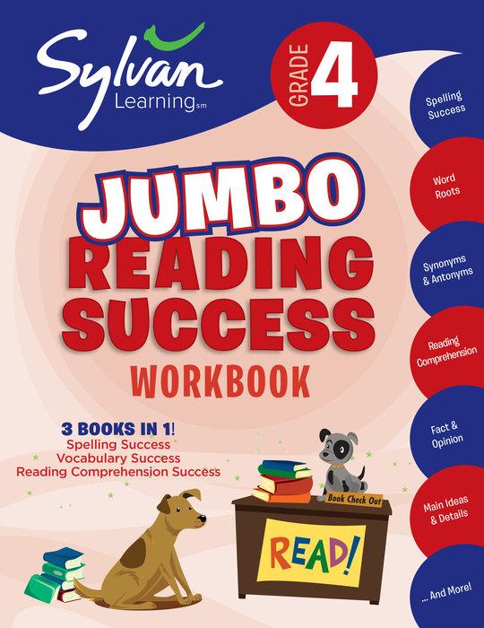 Cover of 4th Grade Jumbo Reading Success Workbook